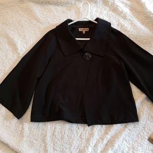 NWT Notations black blazer size XL